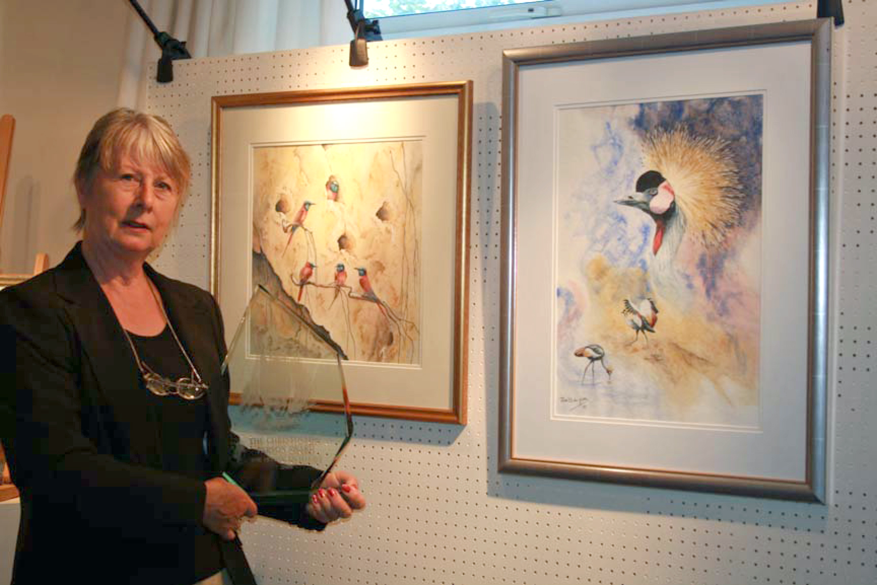 Ruth Baker Walton Award Winning Wildlife Artist